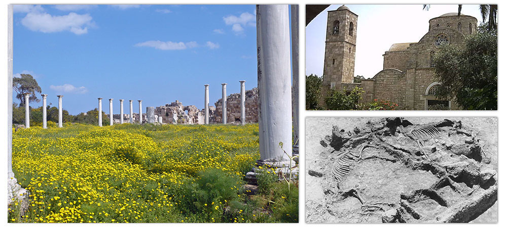 Discovering the origins of Famagusta: Enkomi and Salamis and the Monastery of Barnabas