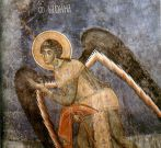 ArchAngel_Michael_fresco_from_church_Arch_before_invasion_500_bg
